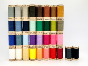 Product photo Scanfil Organic Cotton Sewing Thread Spools