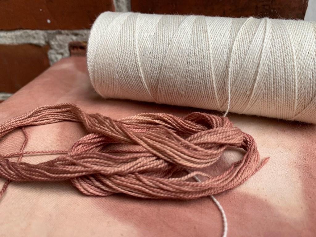 Product photo Organic Cotton Sashiko Thread 8/2